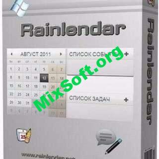 Rainlendar Pro 2.13.1 - календарь и список задач на рабочий стол
