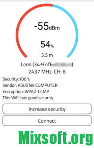 WiFi Warden соединение WPS