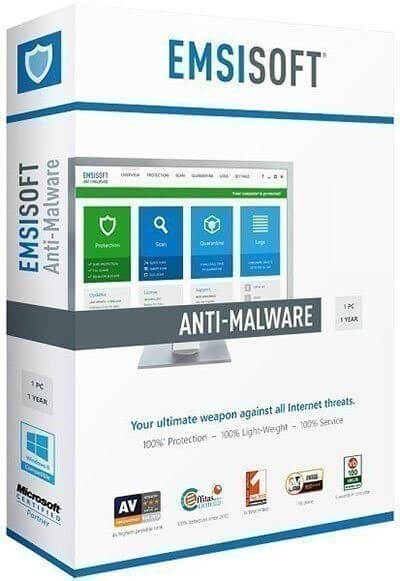 Антивирус Emsisoft Anti-Malware 2019.10.0.9803 Final — скачать бесплатно