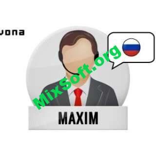 IVONA - Голосовой движок Максим