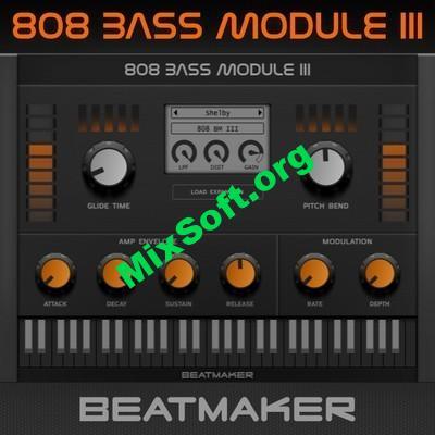 BeatMaker — 808 Bass Module III 3.0.1 VSTi, VSTi3 — Скачать бесплатно