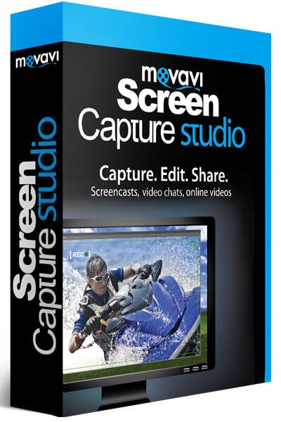 Movavi Screen Capture Studio 10.0.1 RePack + Portable by elchupacabra — Скачать бесплатно