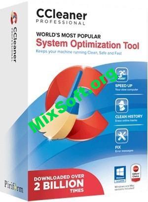 CCleaner Professional 5.65.7632 + ключ — Скачать бесплатно