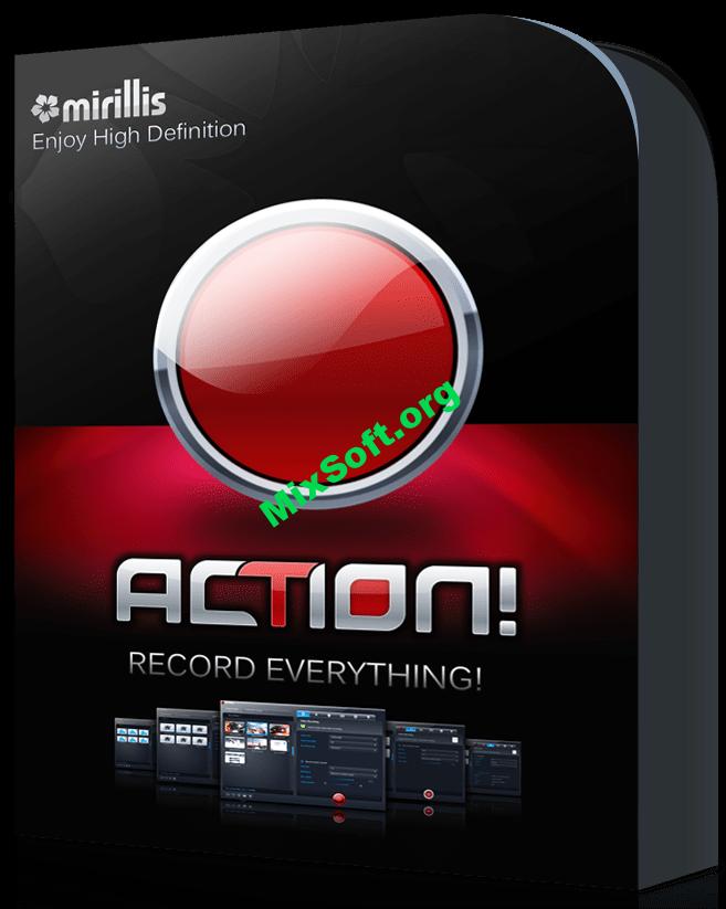 Mirillis Action 3.9.3 (Portable) + ключ активации — Скачать бесплатно
